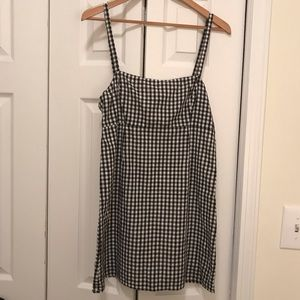 Silence and Noise Gingham Mini Dress